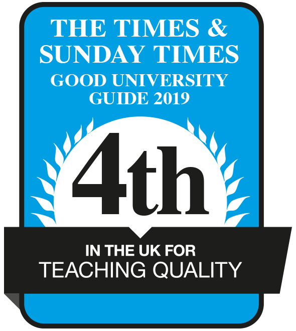 No.1 University in Greater Manchester for Student Satisfaction
